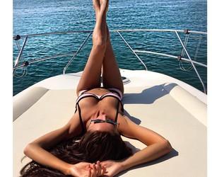 girl, beautiful, and bikini image
