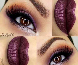 beautiful, eyeshadow, and gorgeous image