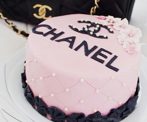 chanel, cake, and pink image