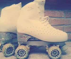 artistic, shine, and rollerskate image