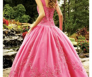dress, princess, and lovely image