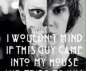 american horror story, tate, and evan peters image