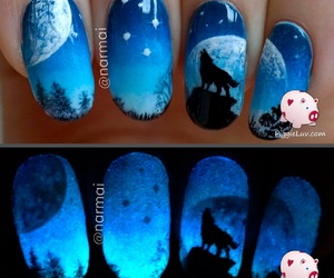 nails and wolf image