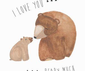 art, bears, and I Love You image