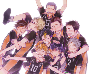 haikyuu and karasuno image