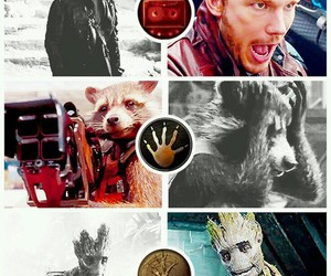 Marvel, zoe saldana, and drax image