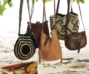 bag, beach, and boho image