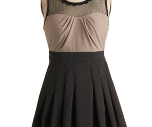 clothing, vintage, and dress image