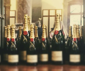 champagne, drinking, and luxury image