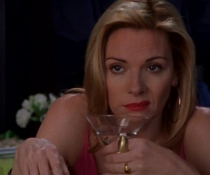 actress, Kim Cattrall, and mood image