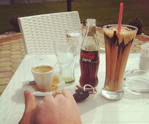 cocacola, coffe, and couple image