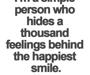 feelings, quotes, and smile image