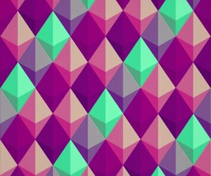geometric, violet, and wallpaper image
