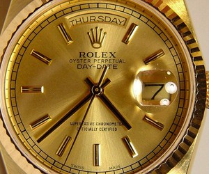 luxe, Or, and rolex image