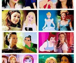 anna, ariel, and belle image