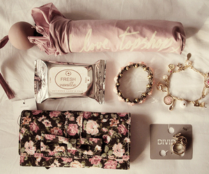bag, cool, and flowery image