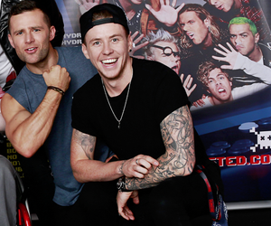 danny jones, harry judd, and McFly image