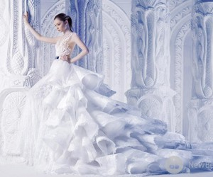 Couture, fashion, and wedding image