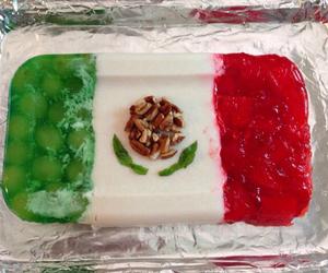 flag, gelatina, and fruit image