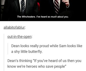 funny, spn, and supernatural image