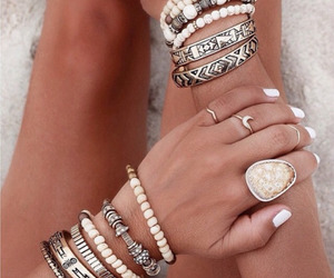 accessoires, nails, and pretty image