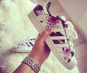 adidas, pink, and chanel image