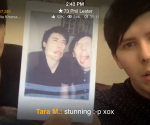 live show, youtubers, and amazingphil image