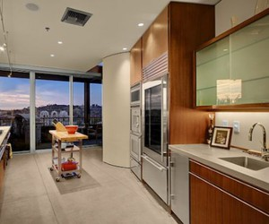 kitchen and penthouse image