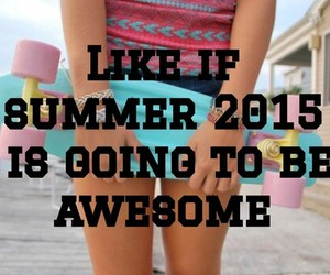 excited, happy, and summer image