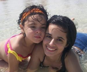 baby, camila, and sister image