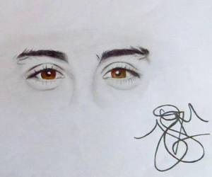 zayn malik, one direction, and eyes image