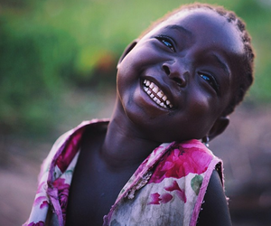 African, beauty, and smile image