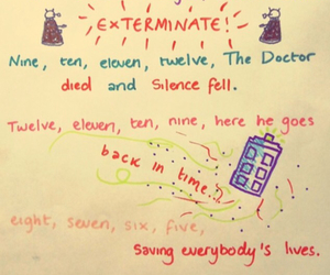 doctor who, tardis, and Dalek image