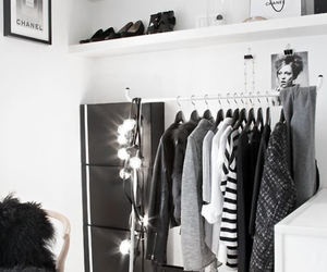 bedroom, black, and black and white image