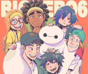 cartoon, hiro, and so cute image