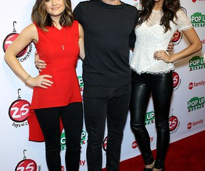 cast, lucy hale, and pretty little liars image