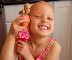 girl, barbie, and cancer image