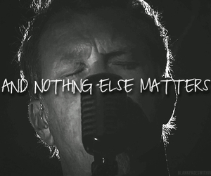 metallica, nothing else matters, and metal image
