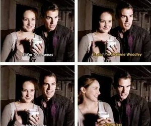 Shailene Woodley, divergent, and four image
