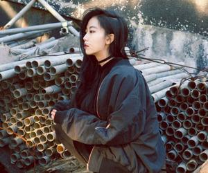 fashion, asian, and black image