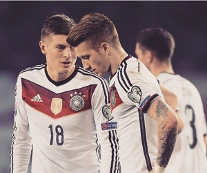 germany, toni kroos, and marco reus image