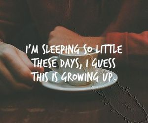 coffee, growing up, and quote image