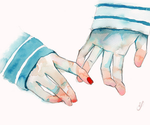 hands, love, and art image