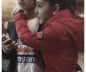 jariana, couple, and ariana grande image