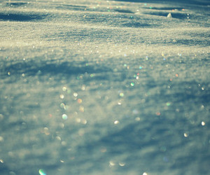 snow and sparkle image