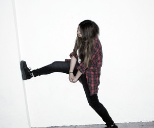 creepers, girl, and grunge image
