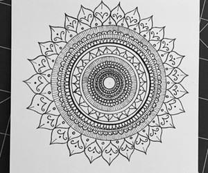 art, mandala, and doodles image