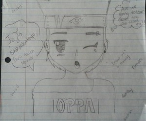 anime, draw, and oppa image