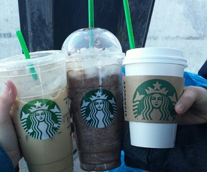 cappuccino, drink, and frappuccino image