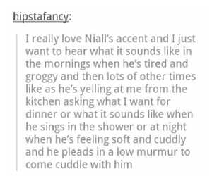tumblr, niall horan, and textpost image